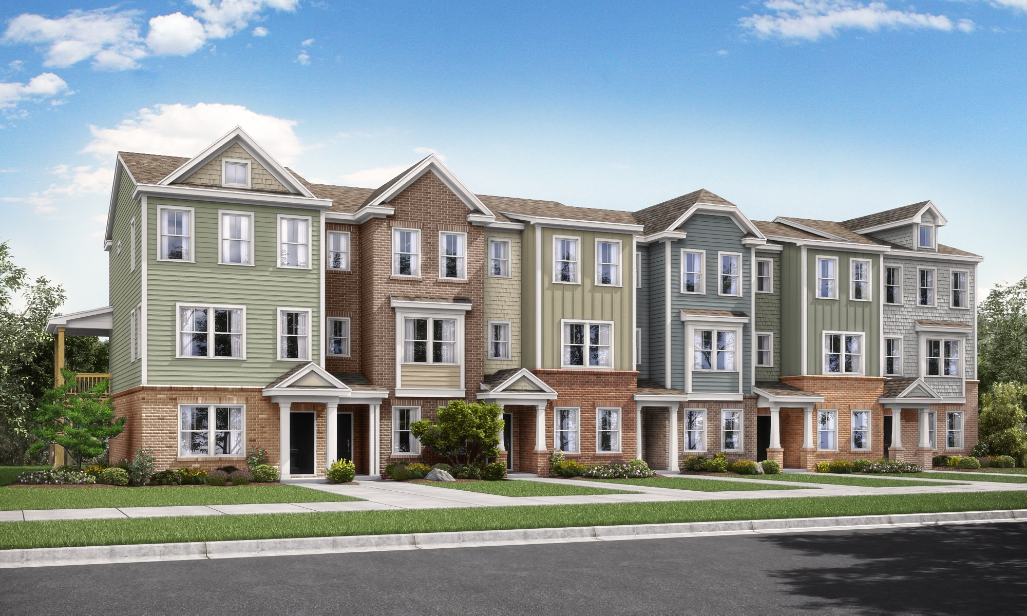 Level Homes - Raleigh - 5401 Townhome - 6 Plex_FINAL